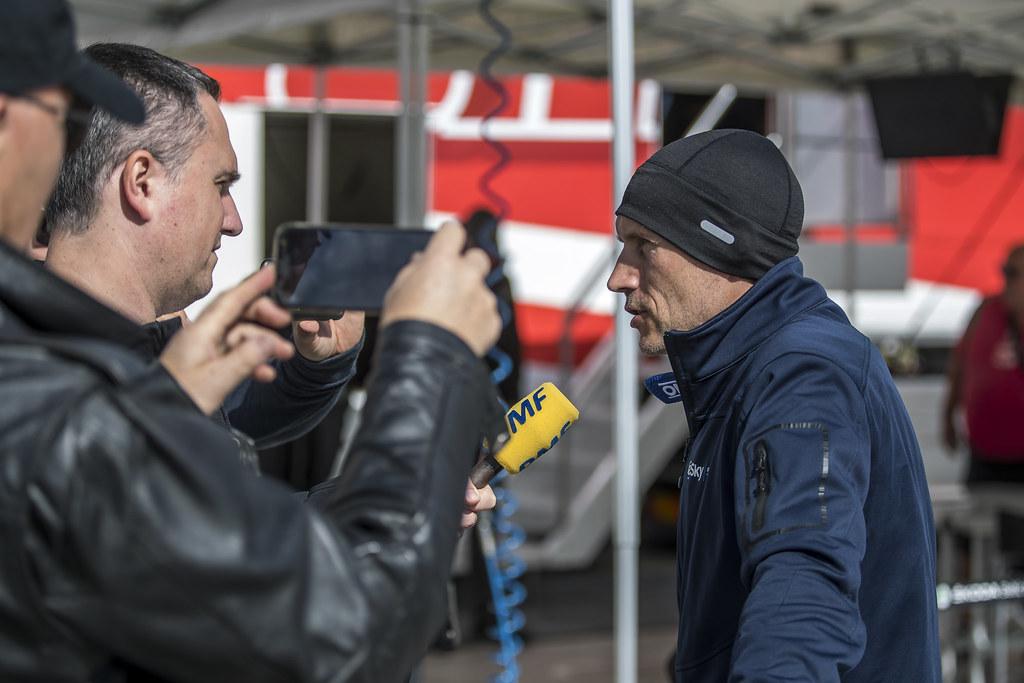 HABAJ Lukasz (POL), DYMURSKI Daniel (POL), RALLY TECHNOLOGY, Skoda Fabia R5, portrait during the 2018 European Rally Championship PZM Rally Poland at Mikolajki from September  21 to 23 - Photo Gregory Lenormand / DPPI