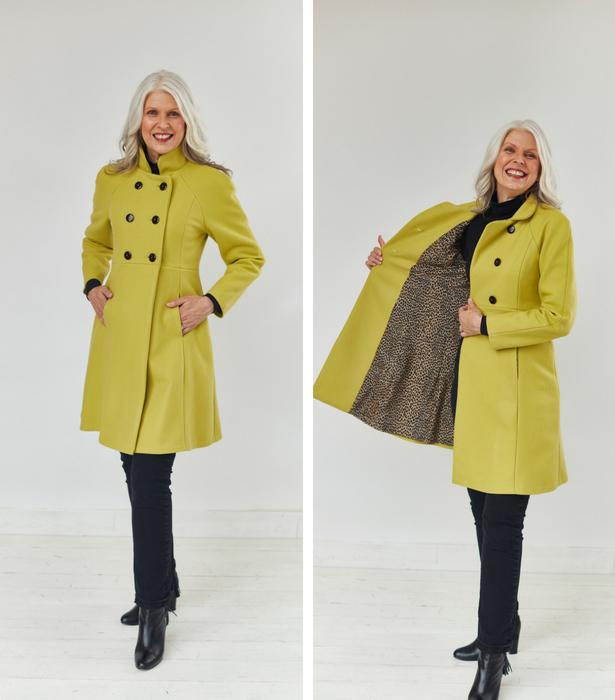 Reg size coat