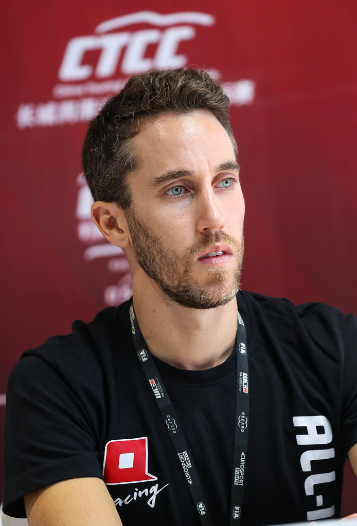 Press conference, GUERRIERI Esteban, (arg), Honda Civic TCR team ALL-INKL.COM Munnich Motorsport, portraitduring the 2018 FIA WTCR World Touring Car cup of China, at Ningbo  from September 28 to 30 - Photo Marc de Mattia / DPPI