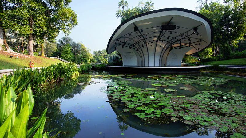 Singapore Botanic Garden destinasi wisata Singapura