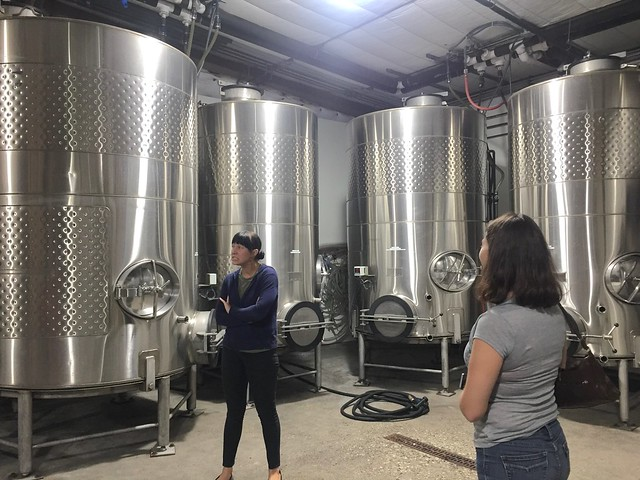 Winery tour at Fiddlehead Cellars, Wine Ghetto, Lompoc, CA