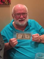 Julian Leidman signed silver Certificate Gene Brandenburg