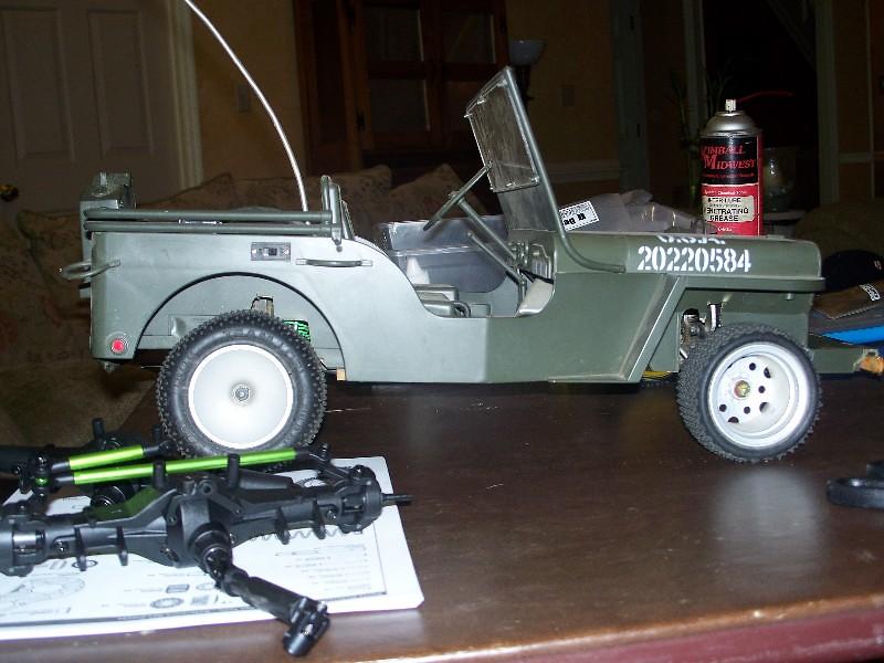2 - Building an RC sixth scale Jeep 31651742958_c0e610463e_b
