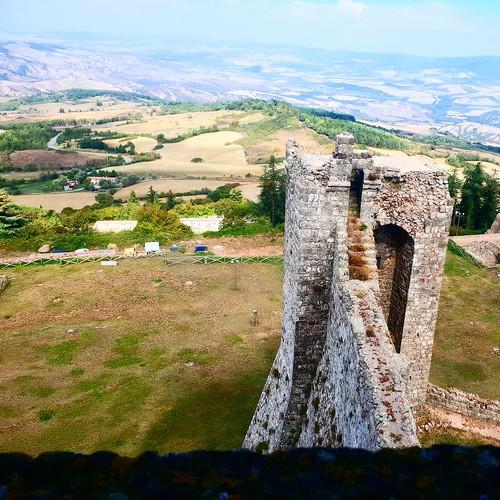 Toscana: dalla rocca di Radicofani