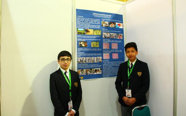 Estudiantes del 7° B participan en XV Congreso Regional Explora CONICYT