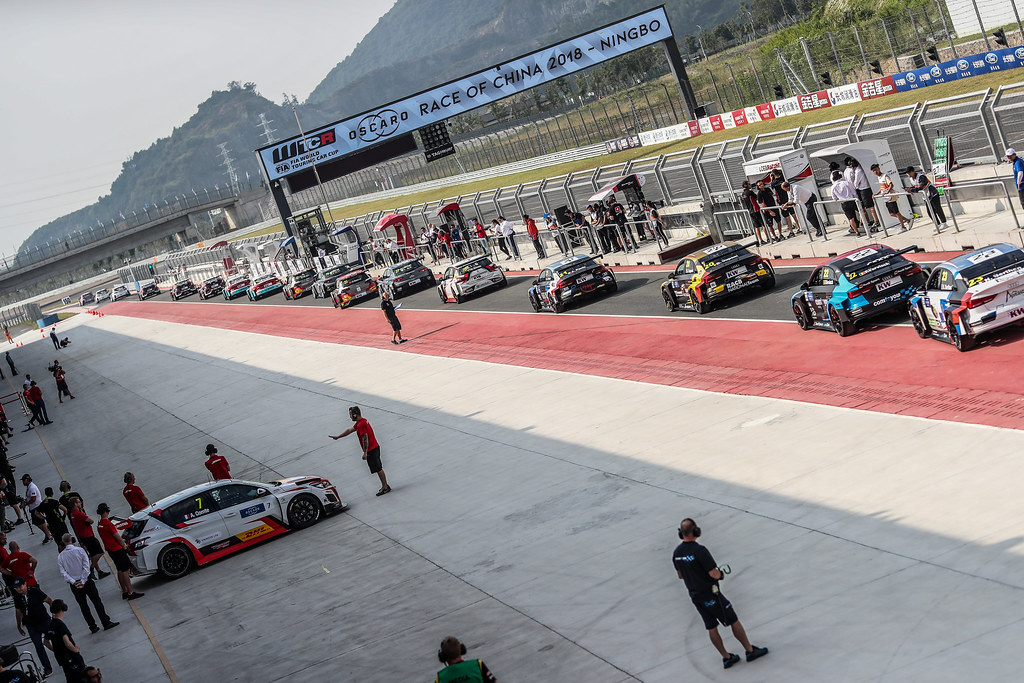 Ambiance Pitlane,  during the 2018 FIA WTCR World Touring Car cup of China, at Ningbo  from September 28 to 30 - Photo Marc de Mattia / DPPI