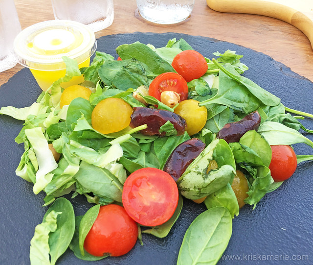 Baby Spinach with Dates Salad