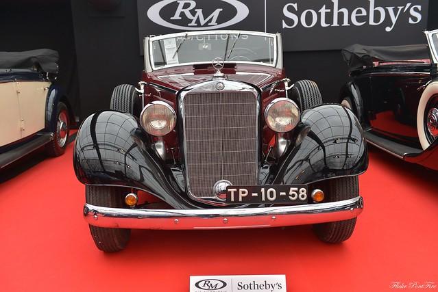 1942 Merceds Benz 320 F cabriolet, Nikon D610, AF-S Zoom-Nikkor 24-70mm f/2.8G ED