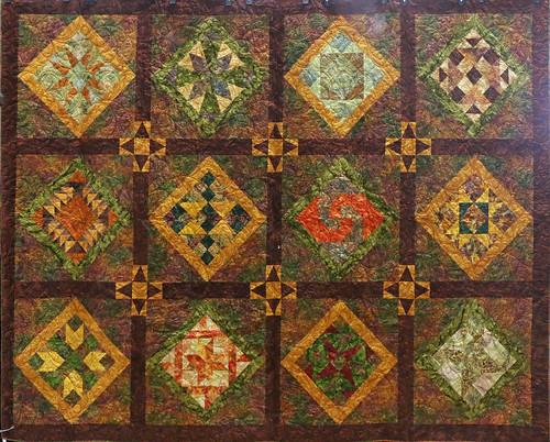 83: My Batiks - Marjorie Miller