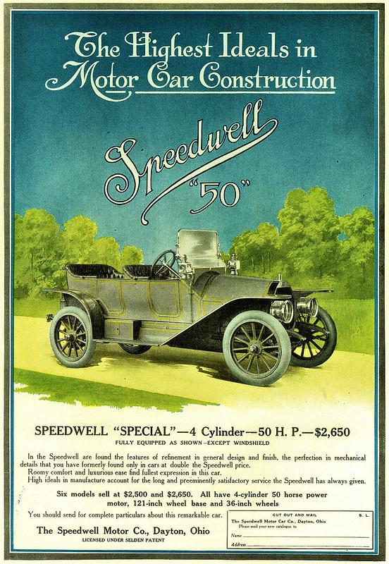 1910 Speedwell Special 50