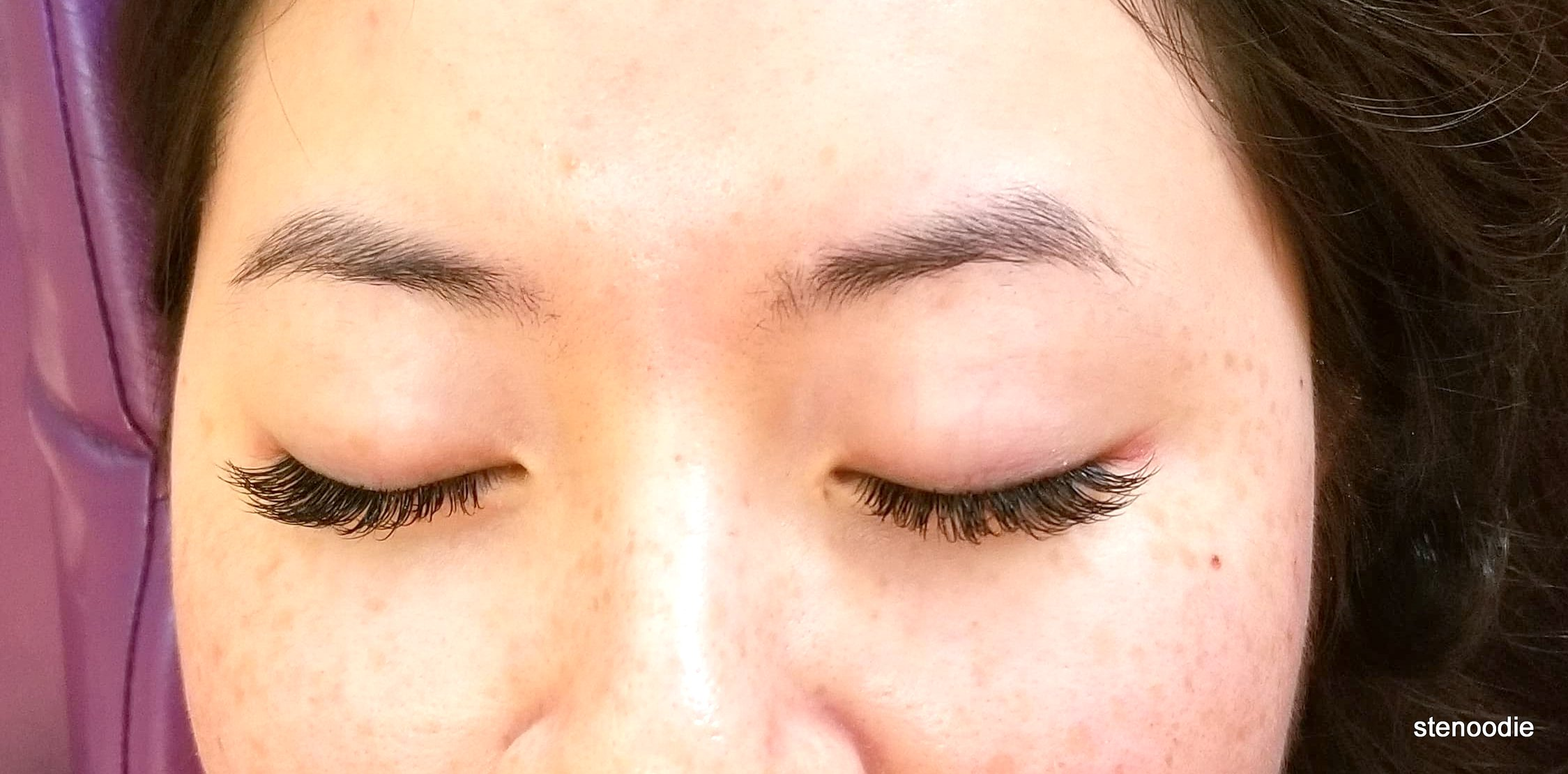 Lashes by Sarah examples