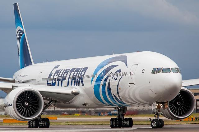 SU-GDL Egypt Air Boeing 777-300(ER)