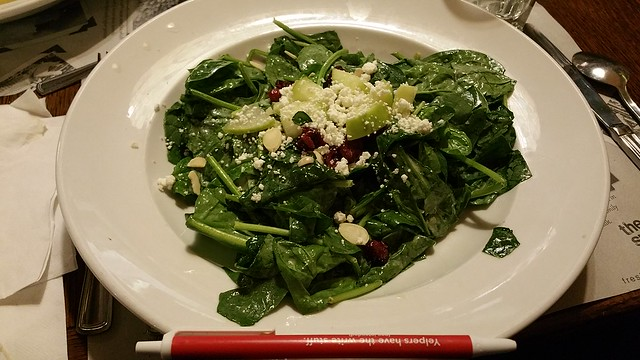 2018-Sept-25 - The Old Spaghetti Factory - spinach salad