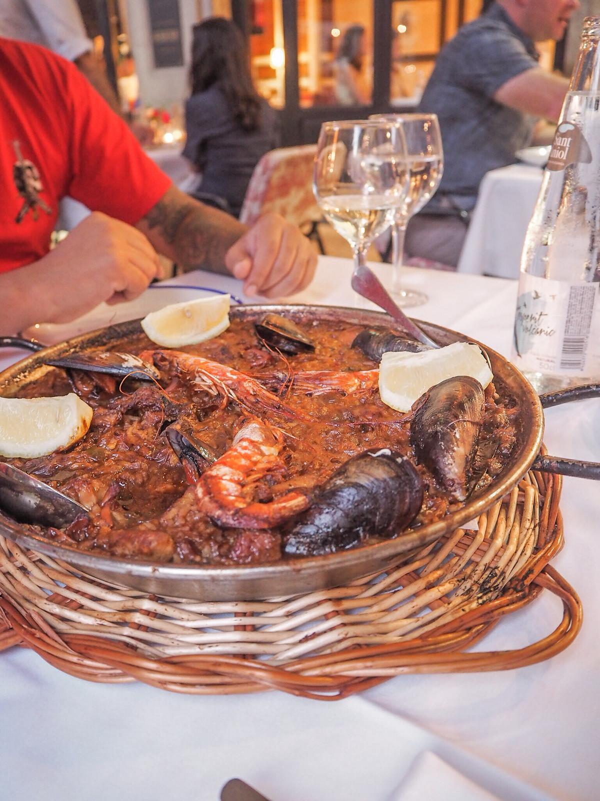 Barcelona ravintolat