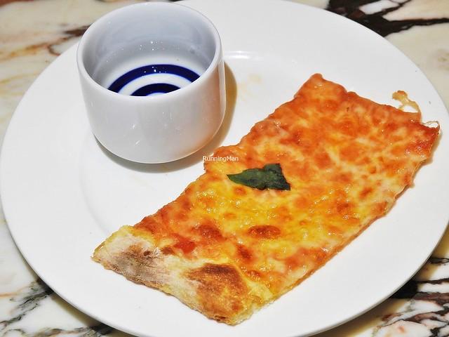 Sake Tokugawa Ieyasu Daiginjo & Pizza Margherita