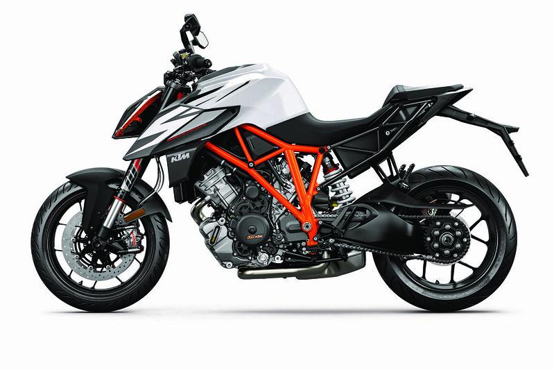 KTM 1290 SUPER DUKE R MY19 Black-White 9