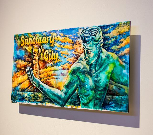 "Marshall M. Fredericks Sculpture Museum brings ""The Spirit of Detroit"" to SVSU"