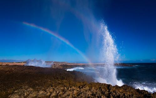 Natural rainbow machine