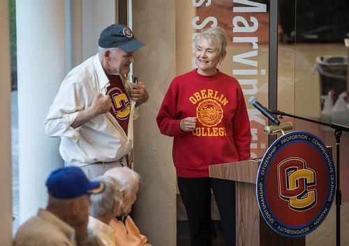 Pat '63 and Merrill '61 Shanks Health and Wellness Center Dedication
