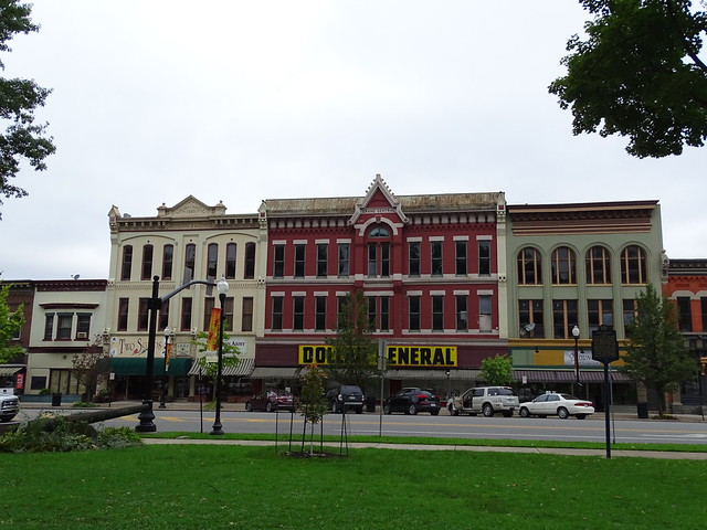 Union Hall (1883) & Grand Central - Ridgway, PA