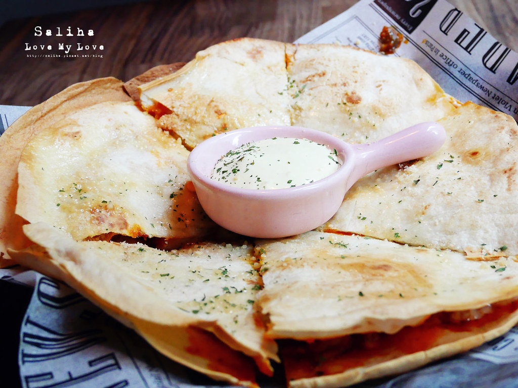 台北2J CAFE好吃餐點推薦韓式拌飯烤餅 (7)
