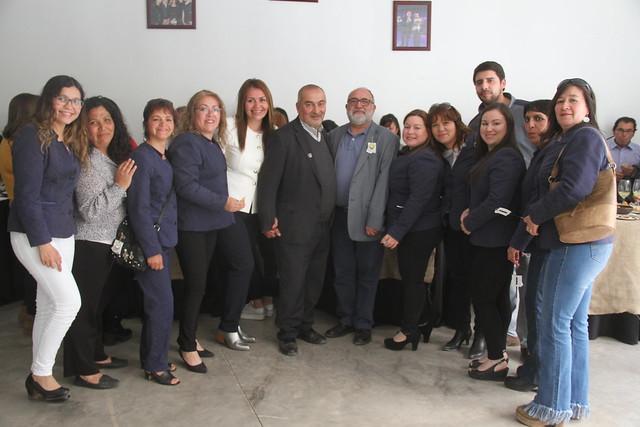 Profesores y Asistentes de la Educación de Coltauco celebraron su día junto a sus autoridades comunales