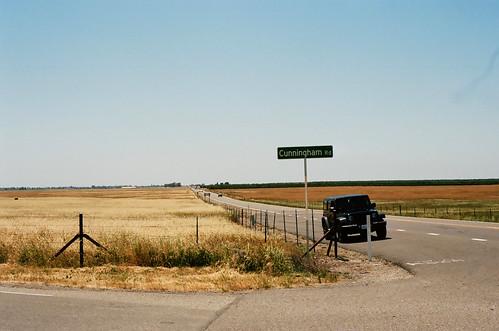 Sur la Route de Yosemite / Highway 140 & Cunningham Rd - Californie