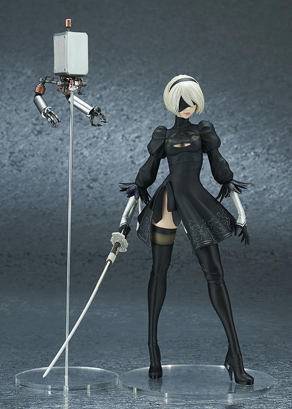 【更新官圖&販售資訊】FLARE《尼爾:自動人形 NieR:Automata》 2B(寄葉二號B型;ヨルハ二号B型)PVC塗裝完成品 一般版/DX版