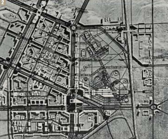 проект планировки бывшего комендантского аэродрома