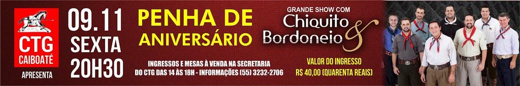 09-11 Penha de Aniversário CTG Caiboaté - Chiquito e Bordoneio