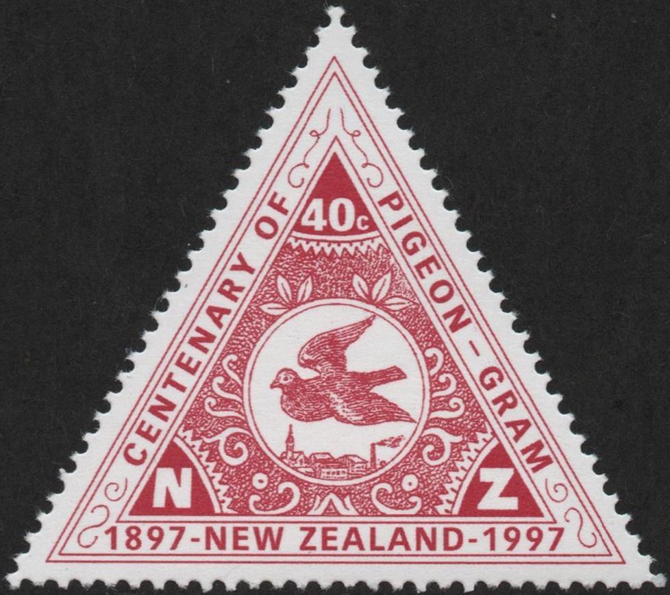 New Zealand - Scott #1435 (1997