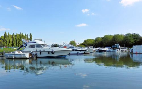 Plaisance fluviale Halluin, France
