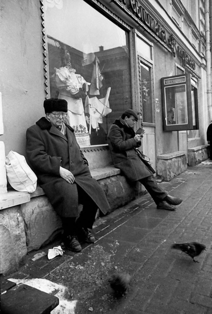 1988. Улица Арбат, 31. Мастера вышивки и кружевоплетения