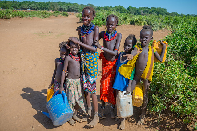 Daasanach tribe village, Omo Valley, Ethiopia