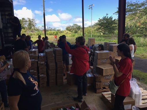 2018-02-10 Viaje de Cáritas a Adjuntas para entregar agua