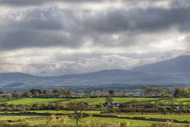 Snow in Snowdonia