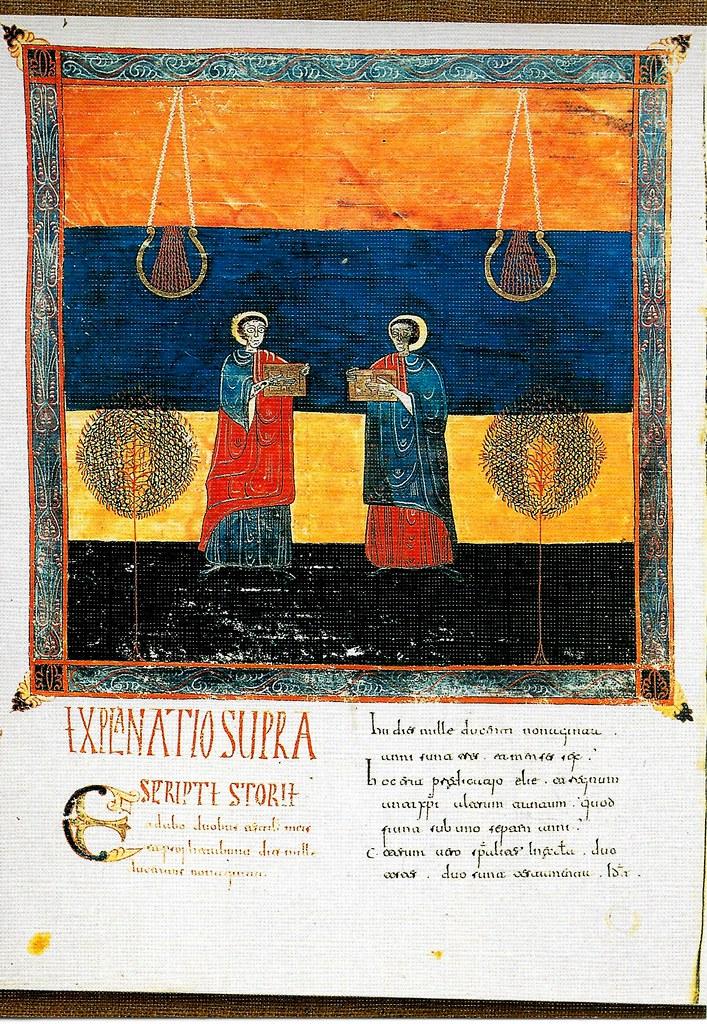 Los dos testigos: Enoc y Elías. Ap. XI. 3, Santo Toribio de Liébana (Cantabria), San Beato de Liébana (siglo VIII),
