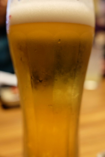 Asahi Super dry draft