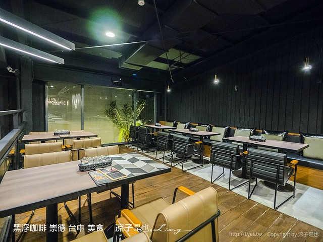 黑浮咖啡 崇德 台中 美食 1