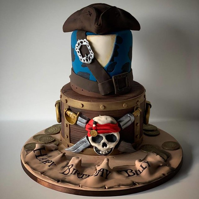 Pirates Cake from JAR by Sweet Mates