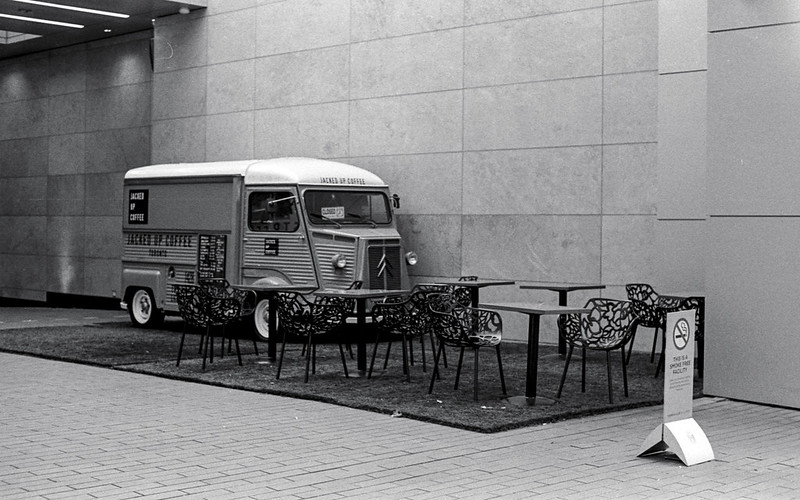 French Coffee Truck