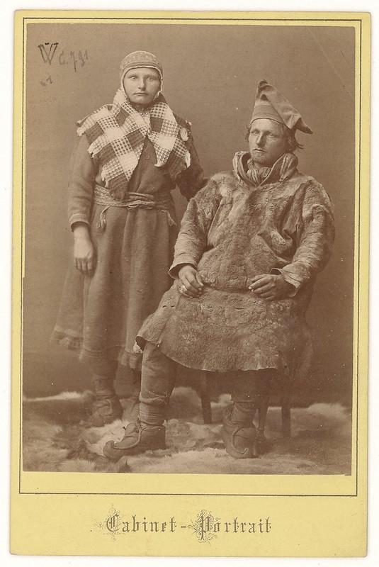1884. «Альбом фотографий из Швеции и Норвегии, в основном лапландские виды и ландшафты»