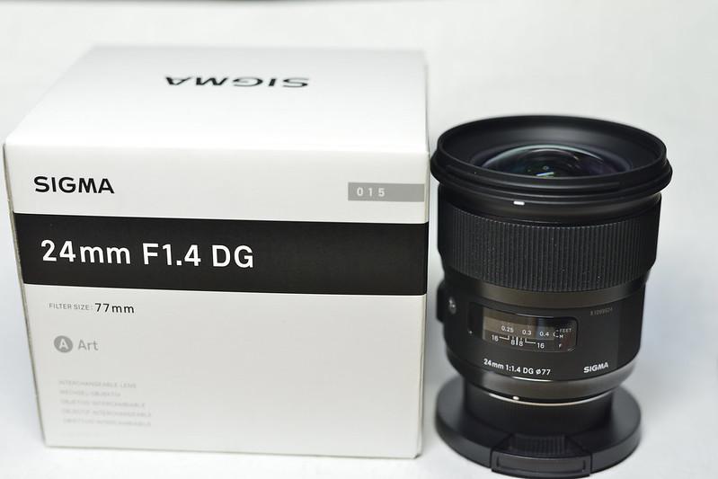 SIGMA24mm F1.4 DG ART
