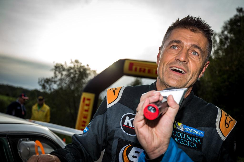 Krzysztof Holowczyc (POL), portrait during the 2018 European Rally Championship Rally Poland at Mikolajki from September 21 to 23 - Photo Thomas Fenetre / DPPI