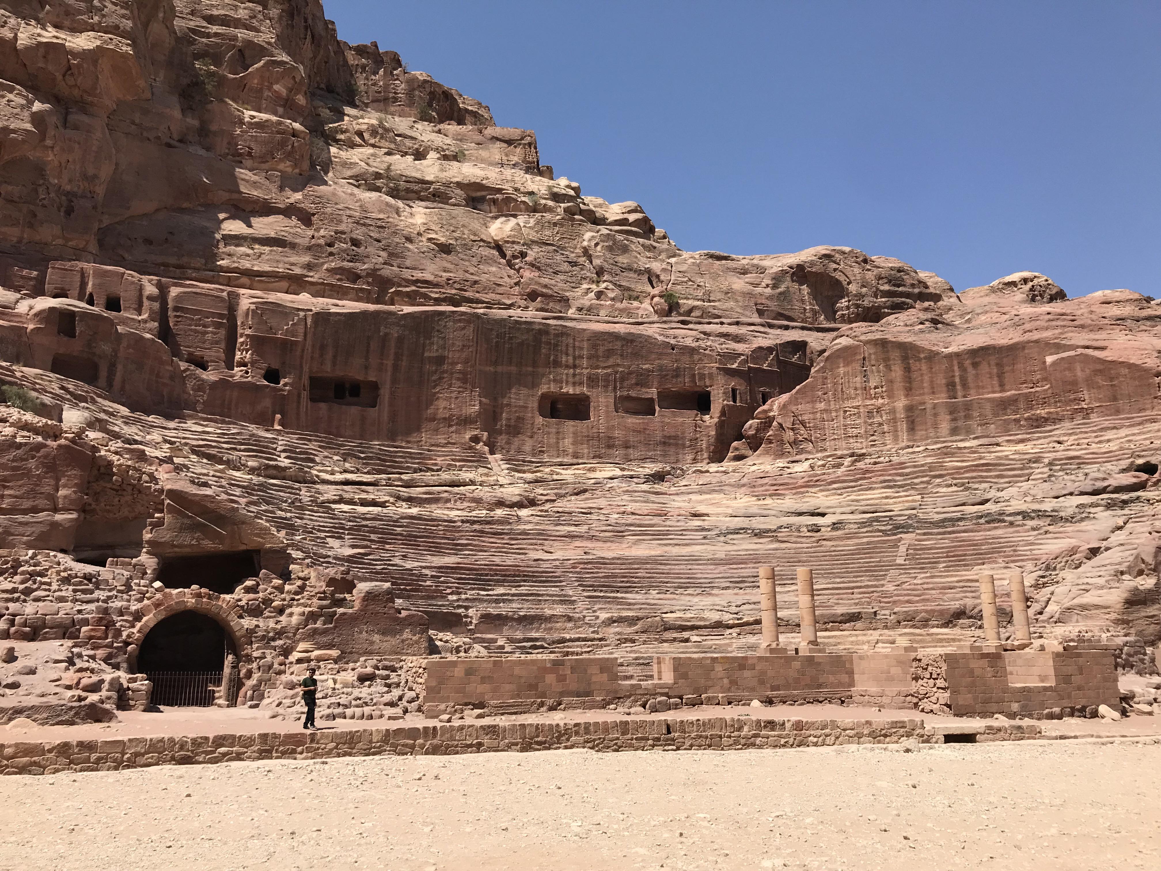 Petra - ampitheatre
