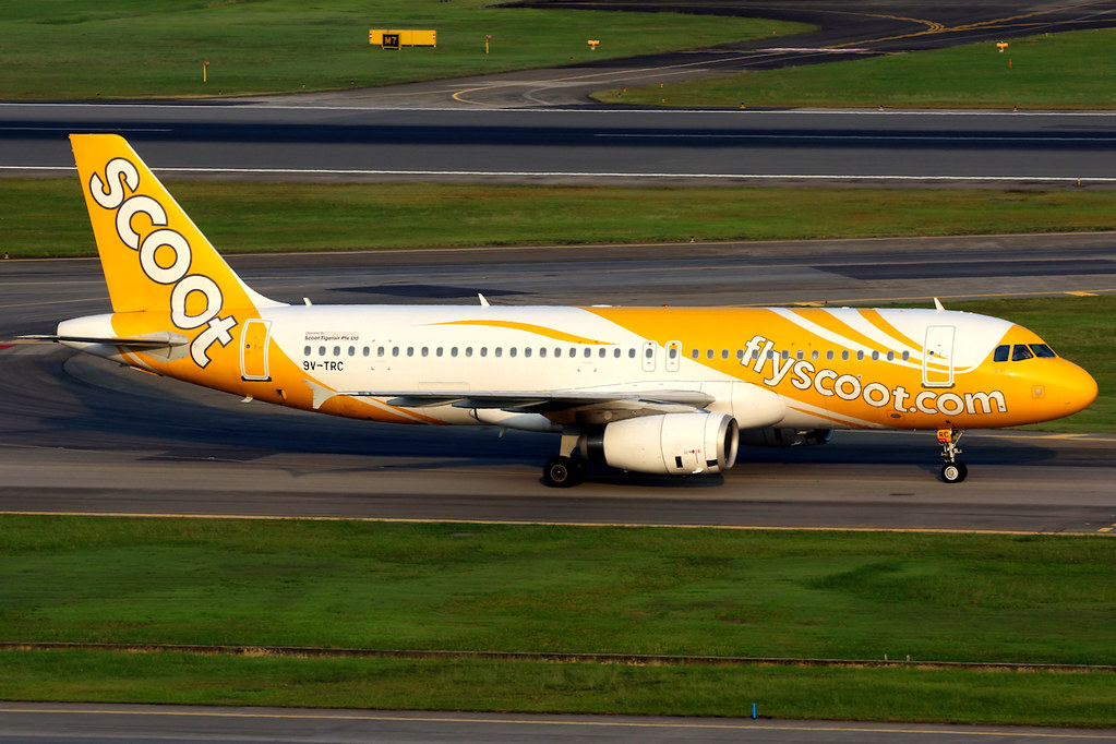 Scoot | Airbus A320-200 | 9V-TRC | Singapore Changi