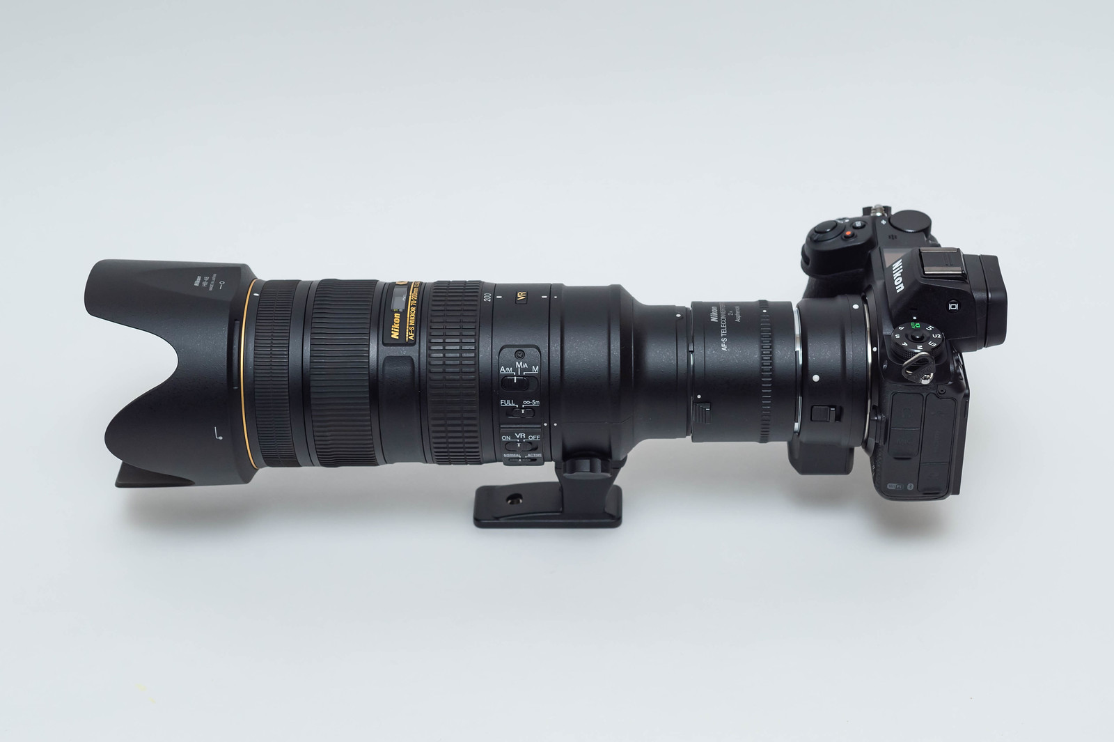 Nikon Z7 + FTZ + TC-20E III + AF-S NIKKOR 70-200mm f/2.8G ED VR II