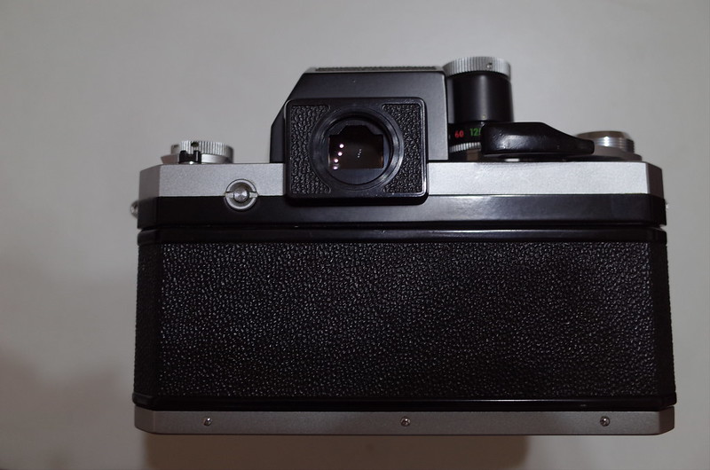 Nikon F フォトミックFTN背面