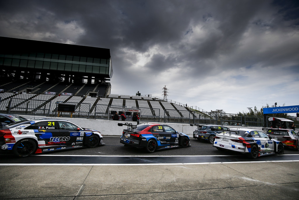 21 PANIS Aurelien, (fra), Audi RS3 LMS TCR team Comtoyou Racing, pit lane during the 2018 FIA WTCR World Touring Car cup of Japan, at Suzuka from october 26 to 28 - Photo Clement Marin / DPPI