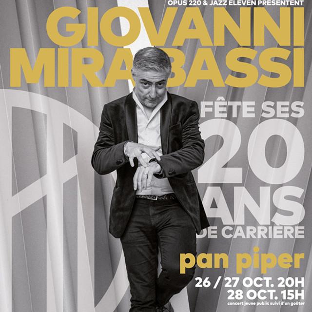 Concert Giovanni Mirabassi : 20 ans de carrière